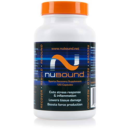 nuBound Nucleotide Sports Recovery Supplement: 600 Mg Nucleotide and 1000 Mg Prebiotic Blend - Post Workout and Muscle Recovery Supplements for Men, Women - Keto and Paleo Diet Friendly - 120 Capsules
