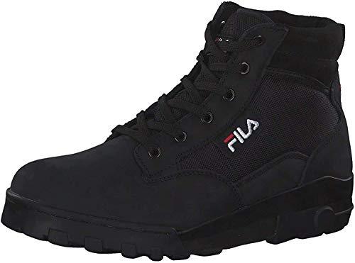Fila Damen Stiefel Grunge II Mid Leder Boot schwarz, Größe:36