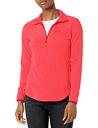 Jack Wolfskin Damen Echo Sweatshirt, Tulip red, XL