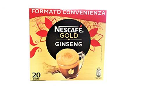 Nescafè Gold Milchkaffee und Ginseng 20 Umschläge mit Schnellverschluss