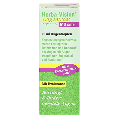 Herba-Vision Augentrost MD sine, 10 ml Lösung
