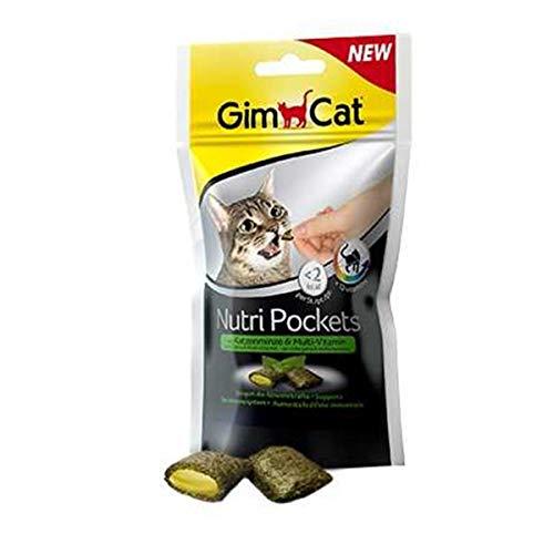 GIMPET Gimcat alimentar multivitamÍnico hierba gatera 60gr Golosinas gato