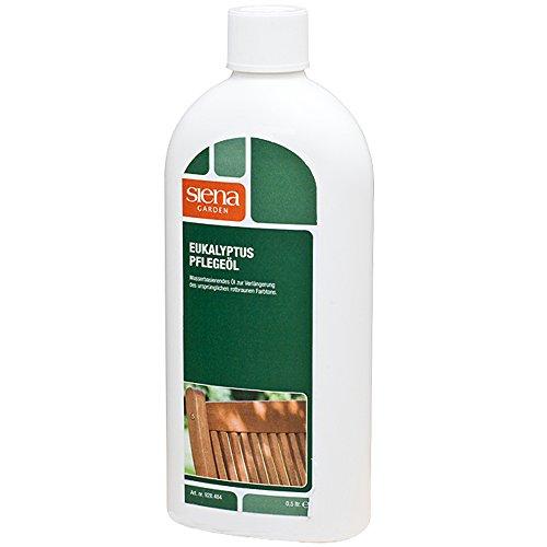 Deuba Holz Pflegeöl Eukalyptus 500ml Für Außen & Innen Pflege Öl Holzpflegemittel Lasur Schutz Holztisch Gartenmöbel Möbel