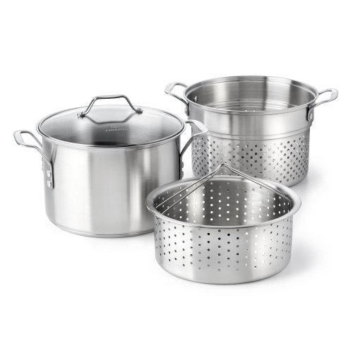 Calphalon Classic Stainless Steel Cookware, Multi-Pot, 8-quart