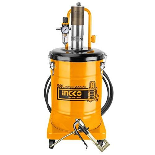 Ingco AGL02301 INGRASSATORE Pneumatico 30 LT - Max 400BAR 250LT/MIN