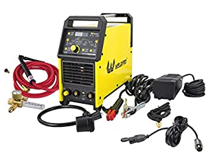 Weldpro Digital TIG ACDC 200GD AC/DC 200 Amp TIG/STICK Welder with Pulse & Dual Voltage 220V/110V welding machine by Zhejiang Linlong Welding Equipment Co., LTD