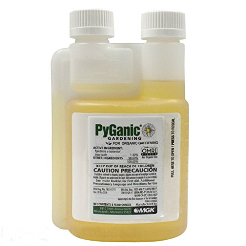 PyGanic Gardening, Botanical Insecticide Pyrethrin Concentrate