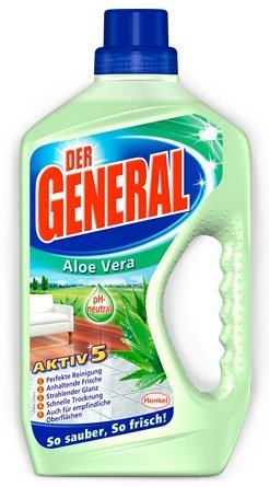 Der General Aloe Vera 8er Pack, (8x750ml)