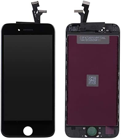 New DATTON 2nd Black LCD Replacement for iPhone 6 4 7 Inch Front Panel Touch Screen Digitizer product image