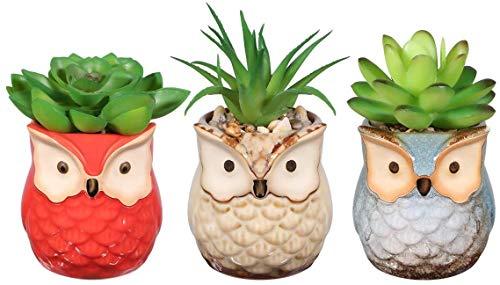 Pots de Fleurs 3pcs Faux décoratifs Faux de Simulation artifulente artifulente artifulente ZSMFCD (Color : Multicolor)