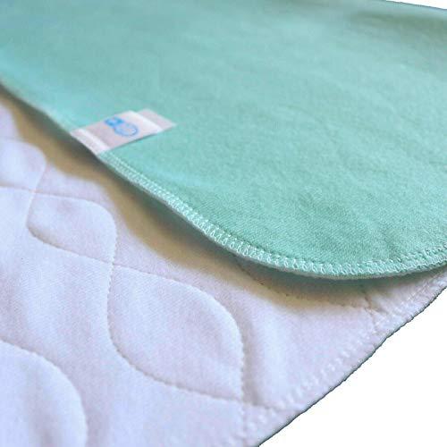 TODA 2er Pack Matratzenauflage, Inkontinenzauflage, wasserdicht, waschbar - Saugvlies, Inkontinenzunterlage Verschiedene Größen (100 x 150 cm)