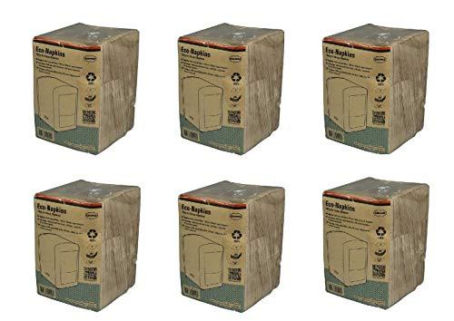 CABANAZ Original Napkins – Set di 6 tovaglioli di carta ecologici per dispenser CABANAZ 100% riciclati – Confezione da 250 pezzi