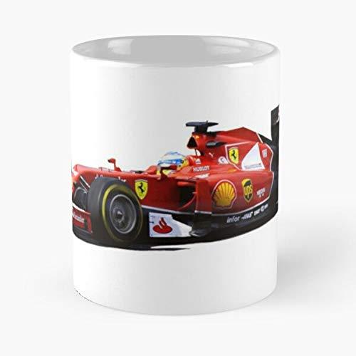 5TheWay Mug In Ferrari Fernando Alonso Taza de café de Regalo de...