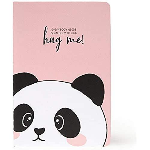 Legami A6NOT0022 Notizbuch, liniert, A6, Panda
