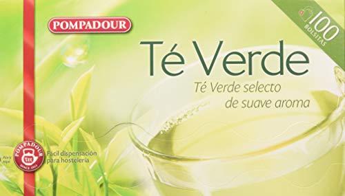 Pompadour Te Verde, 100 bolsitas