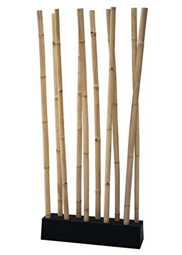 LioLiving®, Raumteiler aus Bambus (Natur) - über 2 Meter hoch! (#400037)
