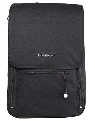 Messermeister 6-Pocket Messenger Knife Bag, Black by Messermeister