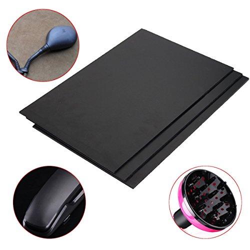 MASUNN ABS kunststof plaat 30x20x0.3cm Zwart Styreen plat Veelzijdig bord