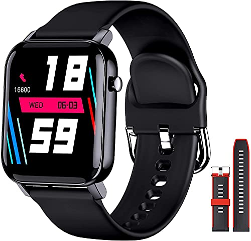 """EPILUM Smartwatch,1,4"""" Touchscreen Fitness Uhr,IP68 Wasserdicht Fitness Tracker mit 31 Sportmodi, Sportuhr mit Pulsuhren,Schrittzähler,Schlafmonitor,Aktivitätstracker,Sportuhren Damen Herren"""