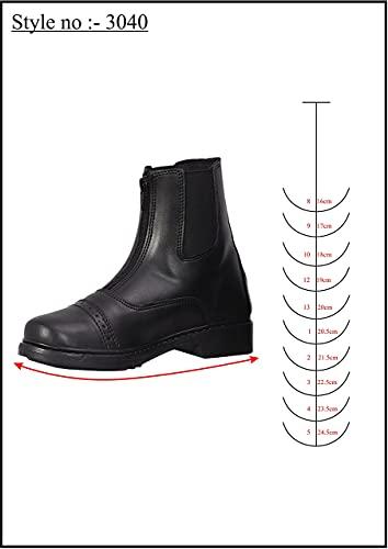 uffRider Children's Starter Front Zip Paddock Boots