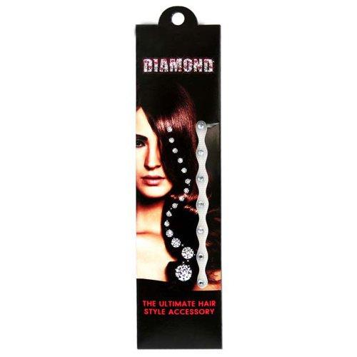 HAB & GUT (HD00!) Diamantes para el pelo - juego de 36 piedras estrás adhesivas (4 mm) - CLARO