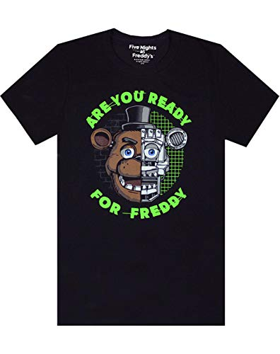 Jungen - Noisy Sauce - Five Nights At Freddy's - T-Shirt (11-12 Jahre)