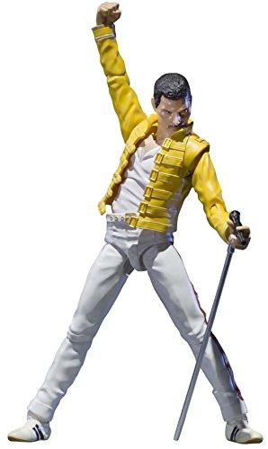 Bandai - Figurine Queen - Freddie Mercury SH Figuarts 15cm - 4549660038269