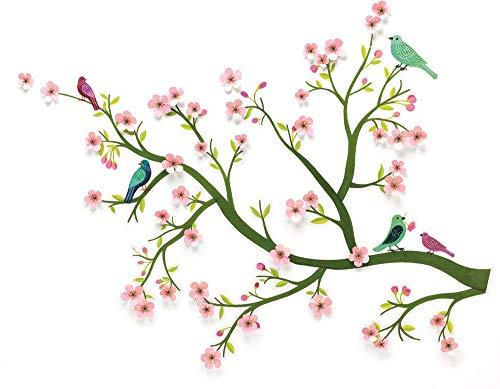 Sticker 3D-kirschblüte