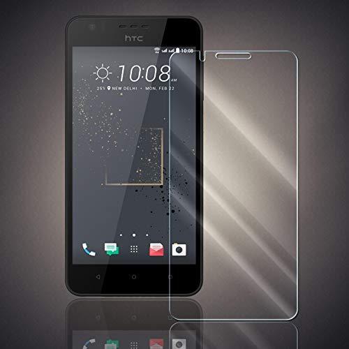 Panzerfolie für HTC Desire 825 Panzer Schutzglas Folie Premium Bildschirmschutzfolie [Screen Protector] 9H HD Glasfolie Hartglas Schutzfolie Displayschutz