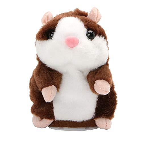 Vektenxi - Peluche para niños, diseño de ratón, Color marrón