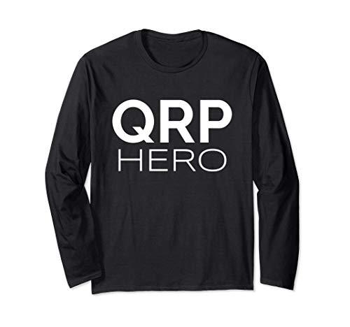 QRP Hero HAM Radio de baja potencia Q-code Mobile Base QRP Manga Larga