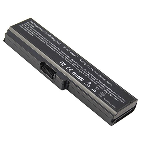Fancy Buying Laptop Battery for Toshiba PA3817-1BRS PA3818U-1BRS PABAS227 PABAS228 Professional 6-Cell Li-ion Battery