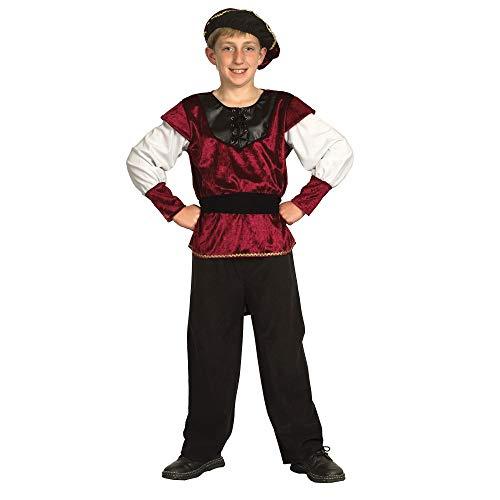 Bristol Novelty - Disfraz Infantil de Príncipe Renacentista para Chico niño