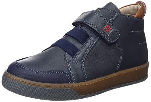 Garvalín Jungen 181625 Klassische Stiefel, Blau (181625/A/Amz Atlantico (Waxi), 24 EU