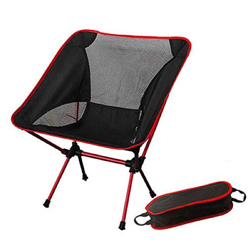 GINXIA Silla de playa, portátil, plegable, para pesca, camping, barbacoa, plegable, para senderismo, jardín, ultraligera, para exteriores, sillas de playa