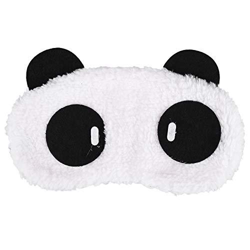 Ulife Mall Cute Panda Schlafmaske Soft Plüsch Augenbinde, Lustige emoticons Schlafmaske Augenmaske Augenabdeckung für Mädchen Jungen Frauen Männer Kinder Zuhause Schlafen Reisen
