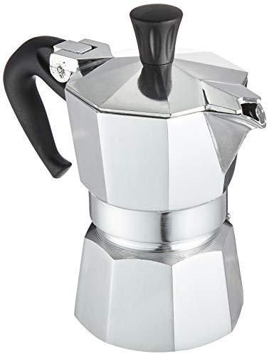 Bialetti Moka Express Caffettiera, Alluminio, Argento, 1 Tazza