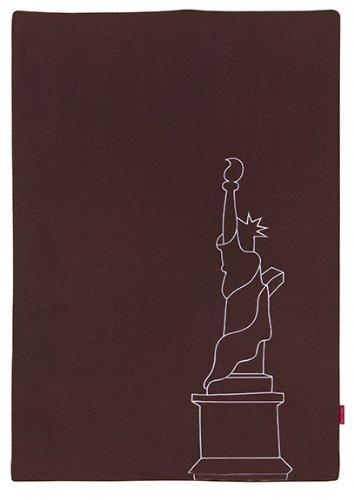 Maclaren art29032 Couverture pour bébé Coffee/New York
