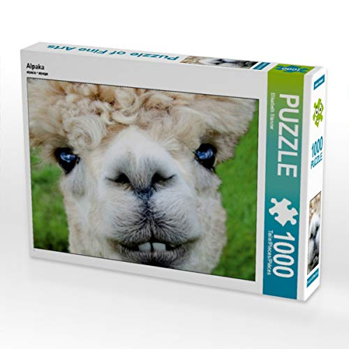 CALVENDO Puzzle Alpaka 1000 Teile Lege-Größe 64 x 48 cm Foto-Puzzle Bild von Elisabeth Stanzer