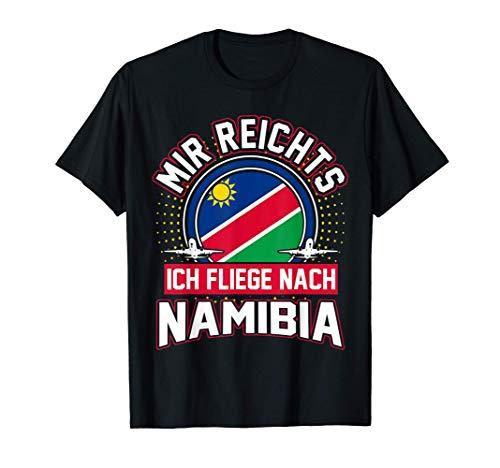 Namibia Naturschützer Urlaub Reise Afrikaner Lustig T-Shirt