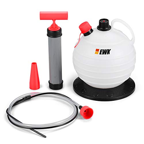 EWK 6L Vacuum Oil Extractor Pump Fluid Extractor Oil Change Pump for Automotive and Marine