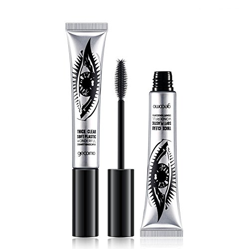 Nourich Luxuriously Longer Thicker Voluminous Eyelashes Long-Lasting Dramatic Extension Natural & Non-Toxic Ingredients Mascara Cils Sensational Extra Noir mperméable Non Blooming Maquillage (01#)