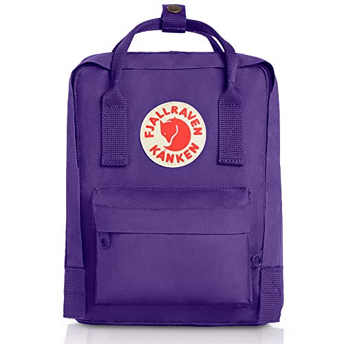 Fjallraven Kids Kanken Mini Backpack - Purple, 29 x 20 x 13 cm/7 Litre