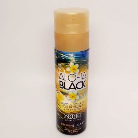 Brown Sugar/Tan Incorporated Aloha Black Bronzer Tanning Lotion 7 oz. by Tan Incorporated