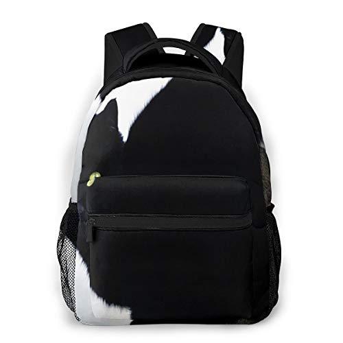 Rucksack Männer Und Damen, Laptop Rucksäcke für 14 Zoll Notebook, Katzenaugen Stein Kinderrucksack Schulrucksack Daypack für Herren Frauen
