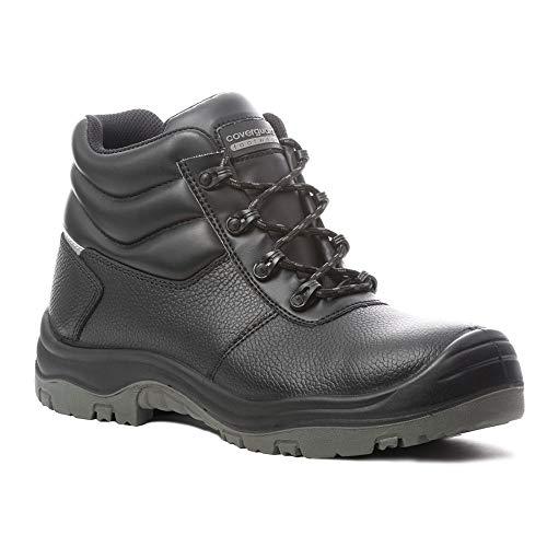 Coverguard Freedite S3 SRC - Zapatos de seguridad (100% no metálicos), Negro (Negro ), 39 EU