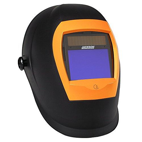 Jackson Safety BH3 Auto Darkening Filter Welding Helmet with Balder Technology, Black, Universal Size, 46157