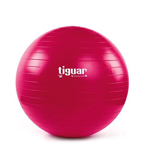Tiguar Gymnastikball 3S 60 cm rot Sitzball Beckenboden Gleichgewicht