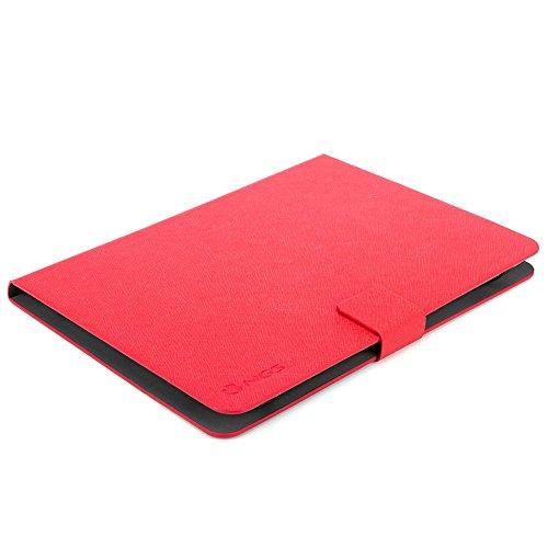 Il Papiro NGS Plus-Custodia a libro per Tablet 22,86 (9 ) 10 cm, colore: rosso