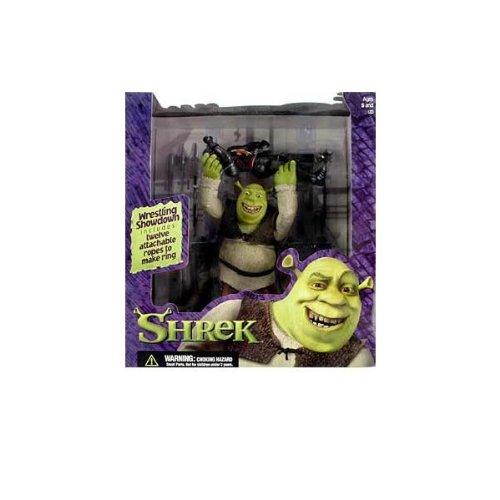 Shrek Deluxe Action Figure Playset WRESTLING Shrek McFarlane Toys by Shrek